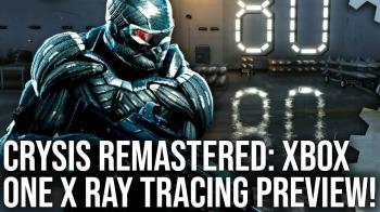 Digital Foundry показали, как выглядит трассировка лучей на консолях в Crysis Remastered