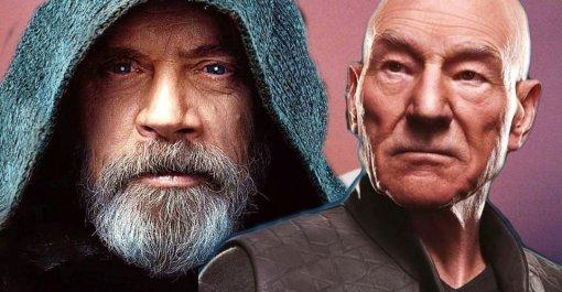 Патрик Стюарт хочет фильм-кроссовер «Звездных войн» и«Звездного пути»