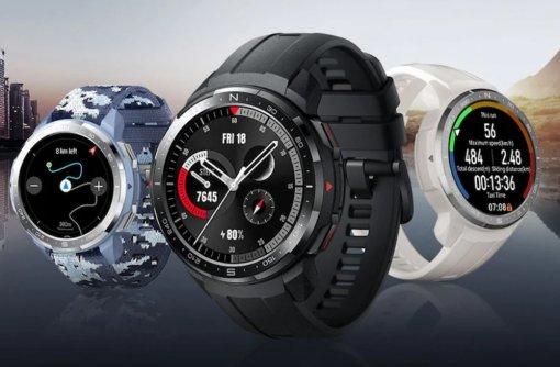 Honor представила вытянутые смарт-часы Watch ESипервые защищенные часы Watch GSPro