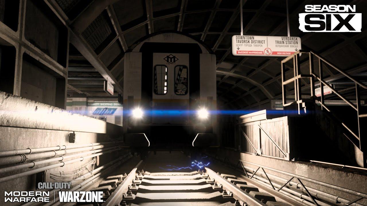 Новый трейлер шестого сезона Call of Duty: Warzone демонстрирует новую зону подземного метро и новые операции