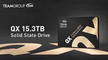 TeamGroup выпустила 2,5-дюймовый твердотельный накопитель QX с емкостью хранения 15,3 ТБ за 3990 долларов США