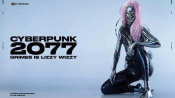 Певица из Cyberpunk 2077 на обложке CYBR