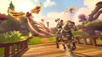 Официальные скриншоты и арты Immortals Fenyx Rising