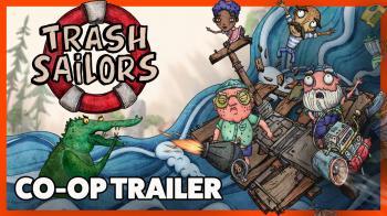 Трейлер кооперативного режима Trash Sailors