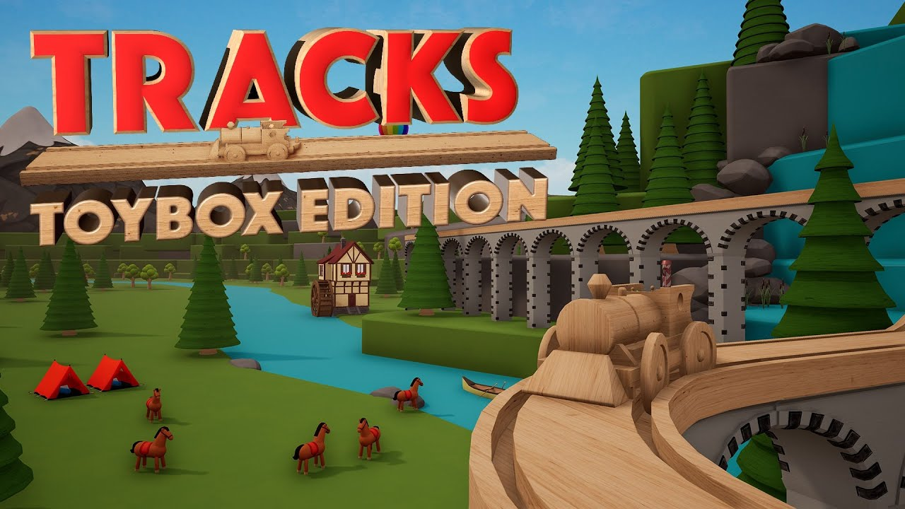 Замечательный конструктор игрушечных поездов Tracks собирается выйти на Switch в ноябре