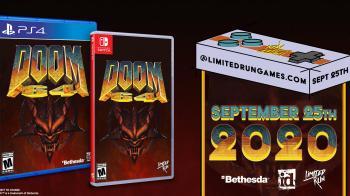 DOOM 64 получит ограниченное физическое издание для PS4 и Switch