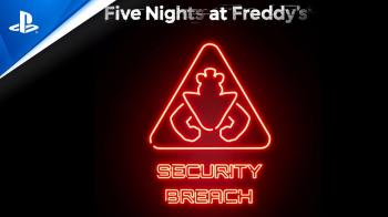 Анонс Five Nights at Freddy's: Security Breach для PS4, PS5 и ПК