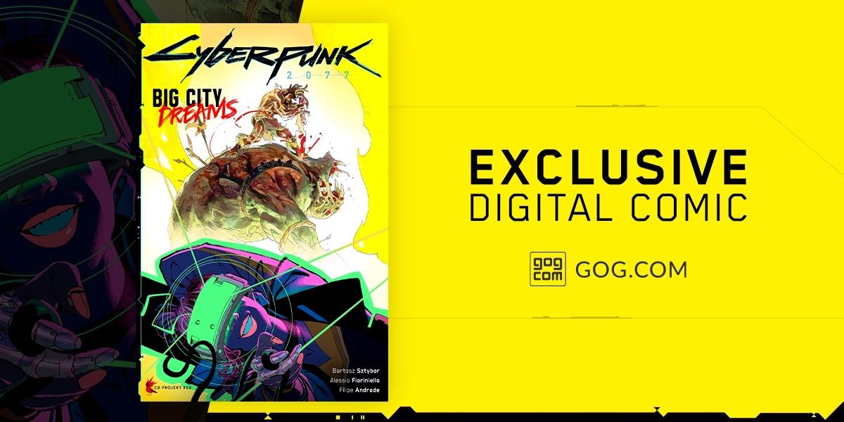 За покупку Cyberpunk 2077 в GOG подарят комикс