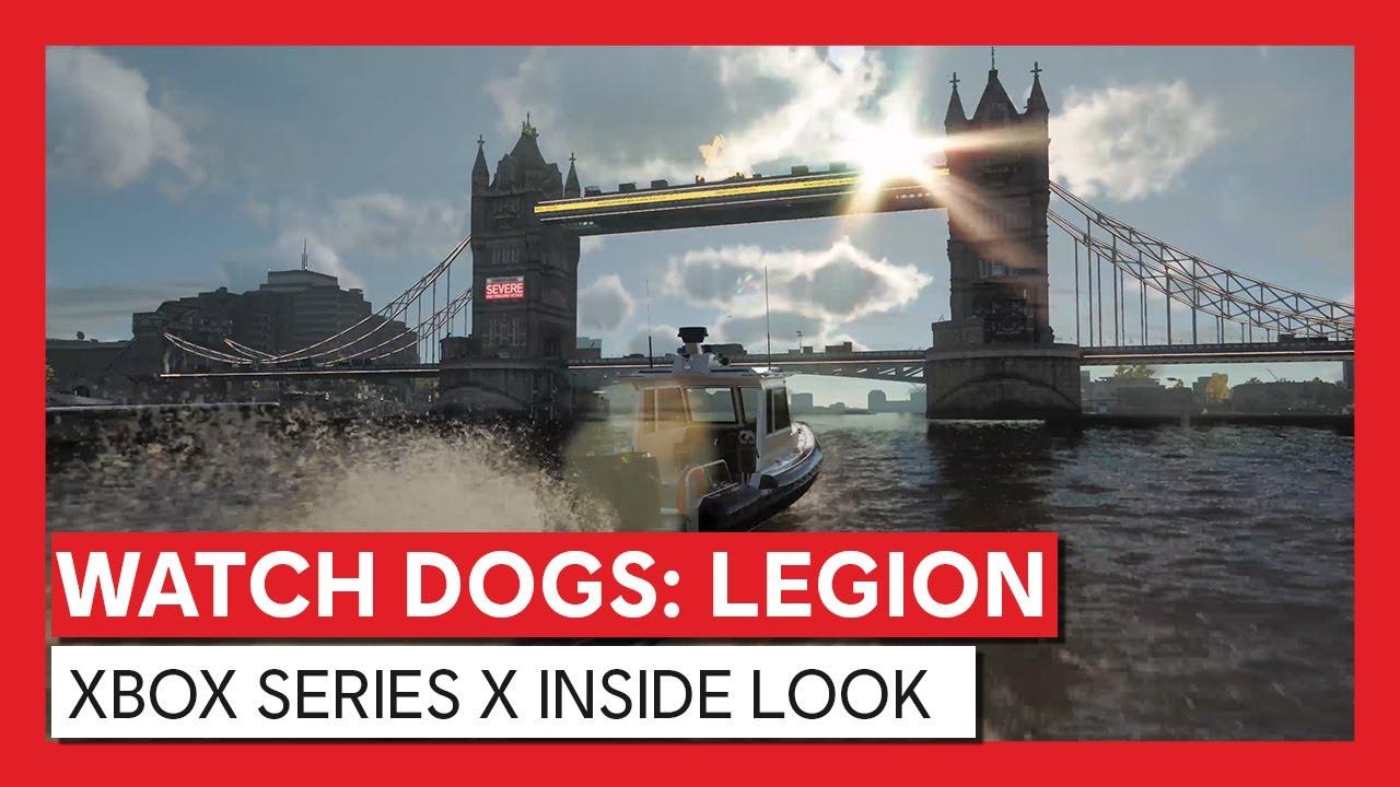 Новый трейлер Watch Dogs: Legion демонстрирует трассировку лучей на Xbox Series X
