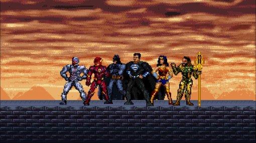 Утизера «Лиги справедливости» Зака Снайдера появилась пиксельная версия