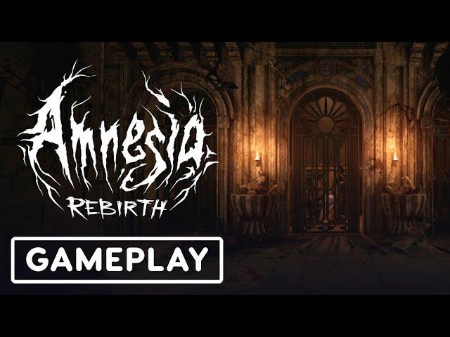 5 минут геймплея Amnesia: Rebirth