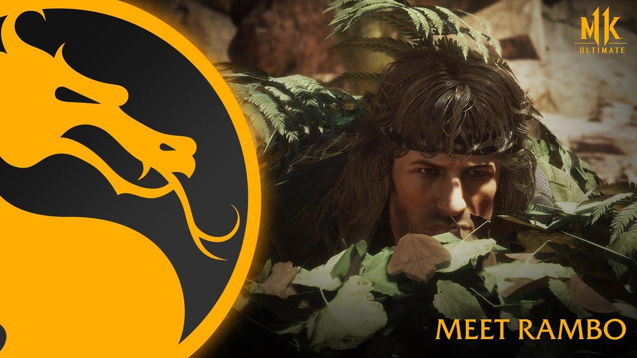 Новый трейлер Рембо из Mortal Kombat 11
