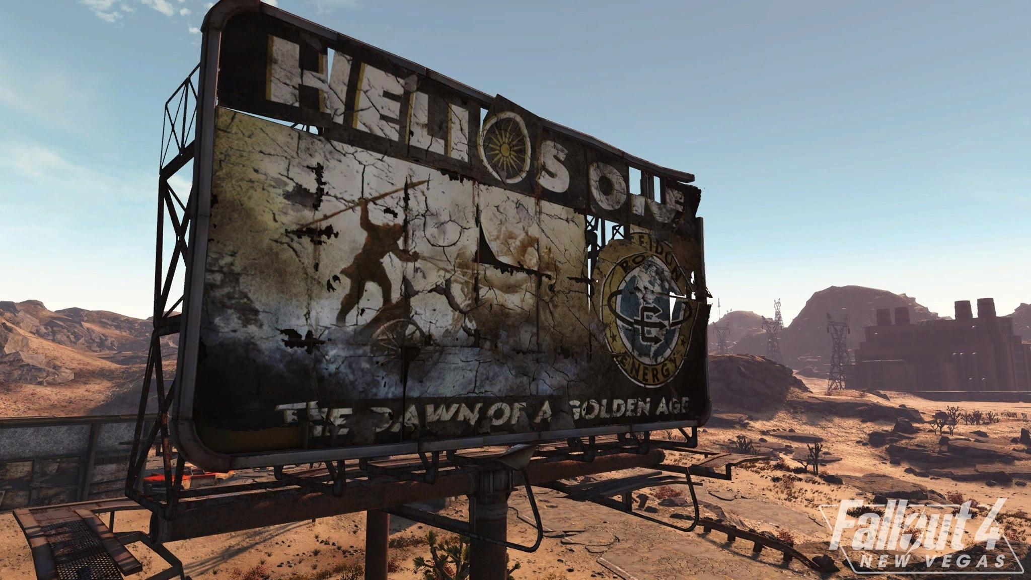 Новые скриншоты масштабной модификации Fallout 4: New Vegas