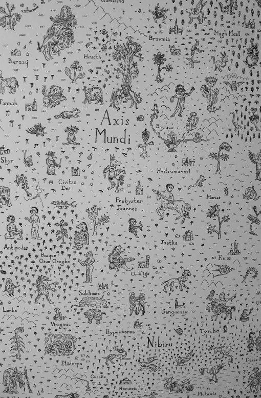Искусство дома: как создать детализированную средневековую мифологическую карту надвери