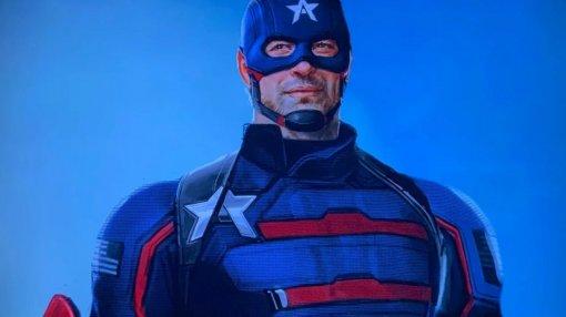 Новый Капитан Америка жестоко избивает врага навидео сосъемок сериала «Сокол иЗимний солдат»
