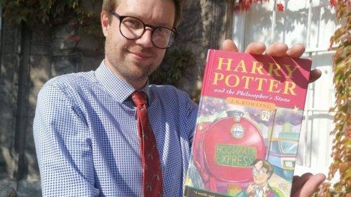 Гарри Поттер и6 млн рублей: первое издание «Философского камня» купили зарекордную сумму