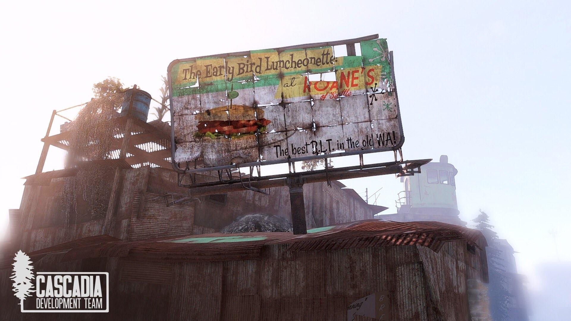 Скриншоты модификации Fallout: Cascadia
