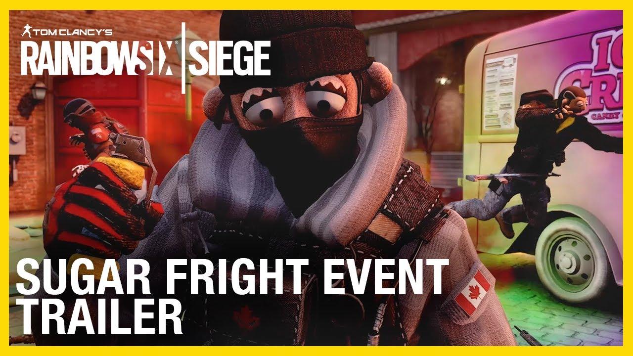 Событие Sugar Fright в Rainbow Six Siege превращает оперативников в марионеток