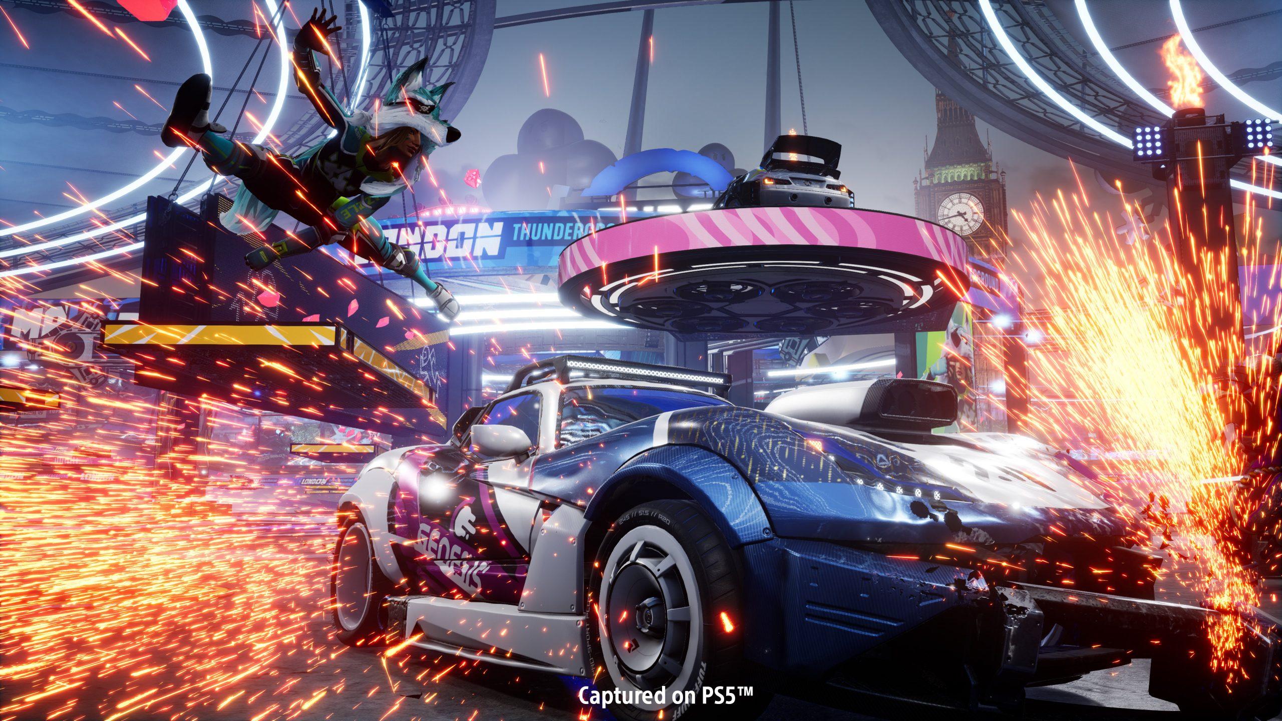 Destruction AllStars выйдет в феврале 2021 года сразу в PlayStation Plus