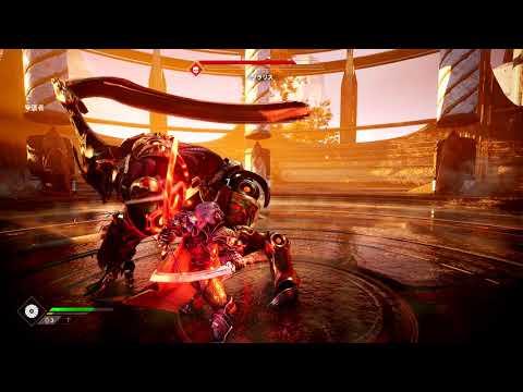 Новые геймплейные кадры Godfall демонстрирующие напряженную битву с боссом