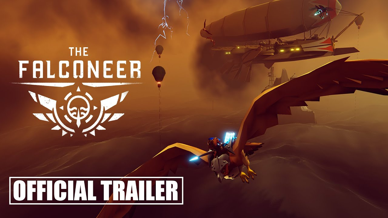 Новый трейлер Falconeer демонстрирующий геймплей и мир