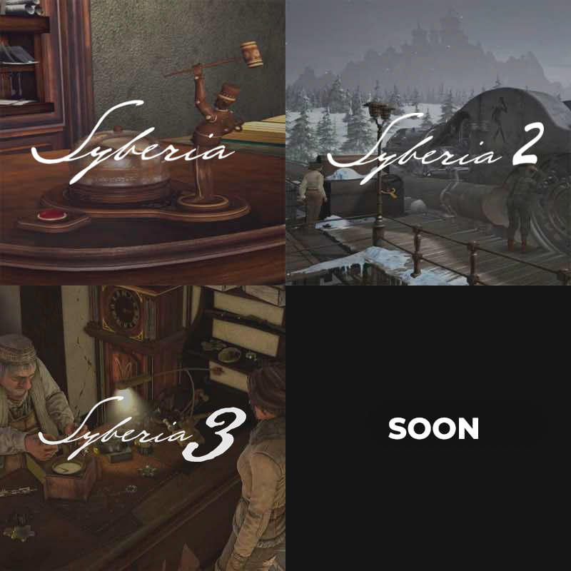 Microids тизерит Syberia 4