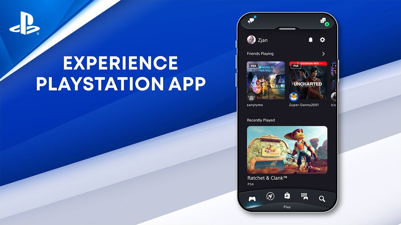 Sony представила обновлённое приложение PlayStation