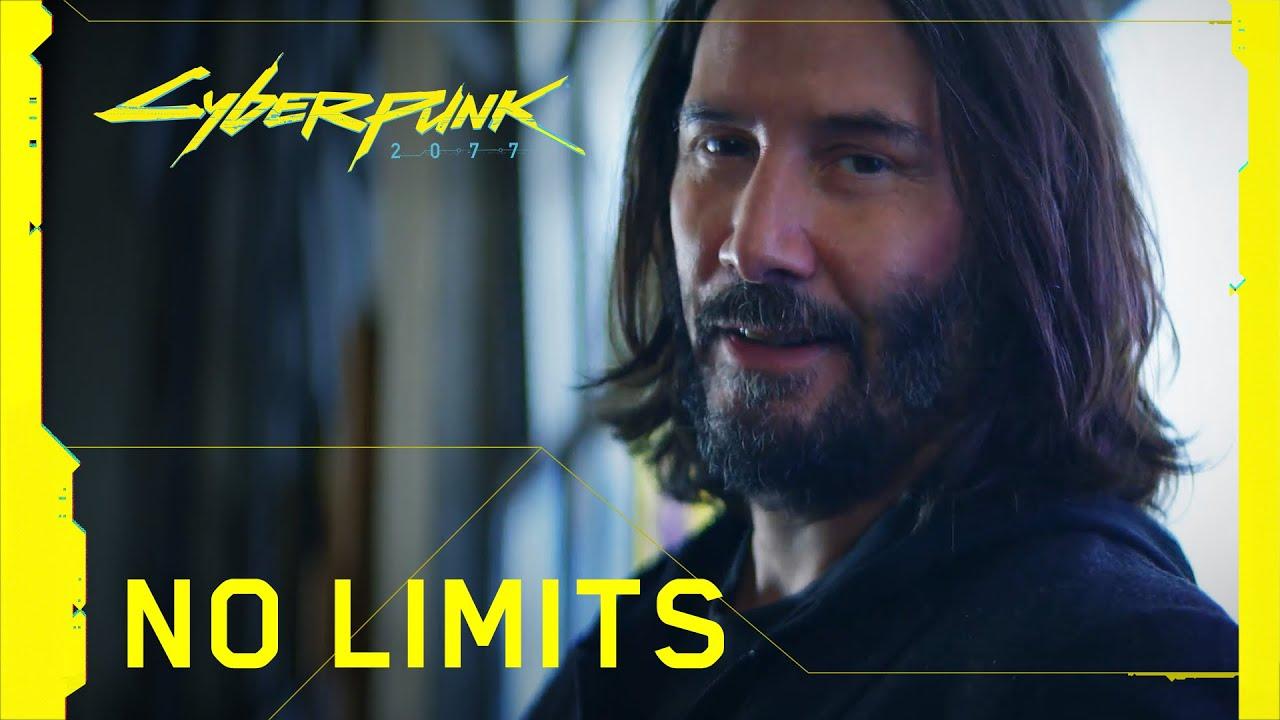 Вторая TV-реклама Cyberpunk 2077 с Киану Ривзом