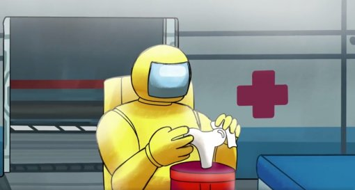 Among Us: аниматор показал мультик про хитрого желтого предателя