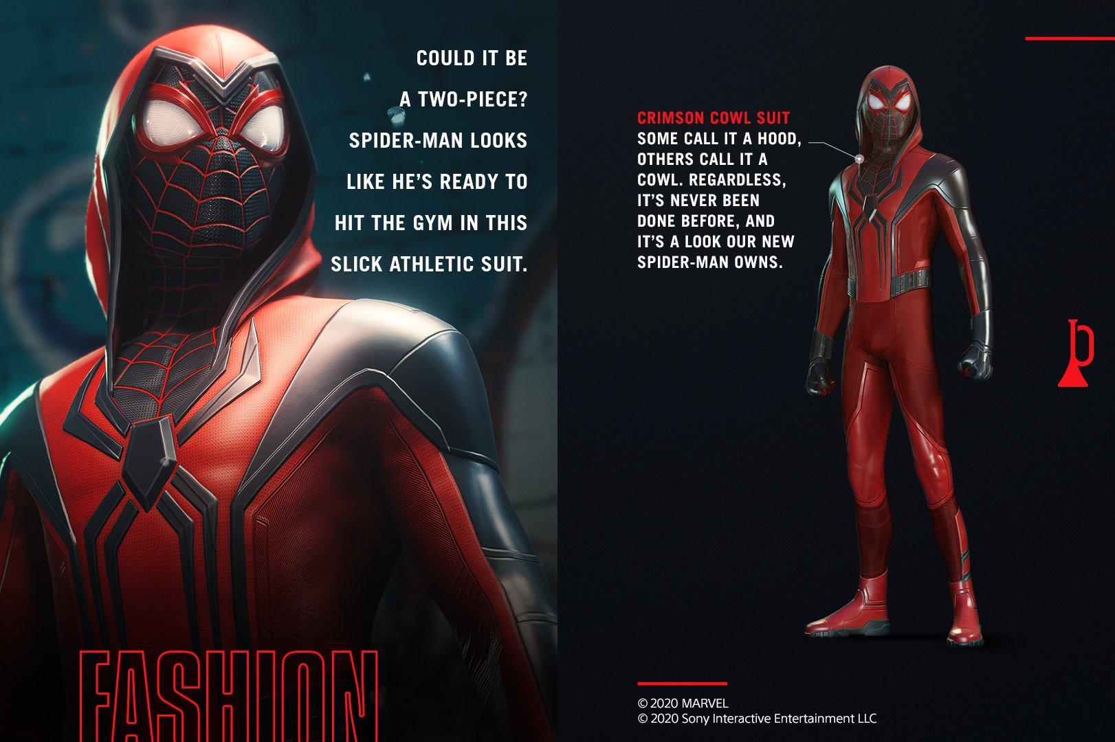 Новое видео и подробности о костюмах и друге Майлза Ганке Ли в Marvel's Spider-Man: Miles Morales