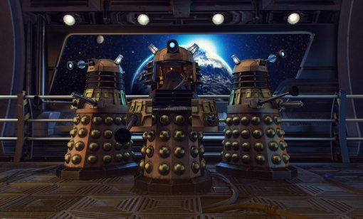 Появился трейлер идата выхода мультсериала про Далеков из«Доктора Кто»