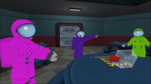 Игрок перенес Among Usввиртуальную реальность