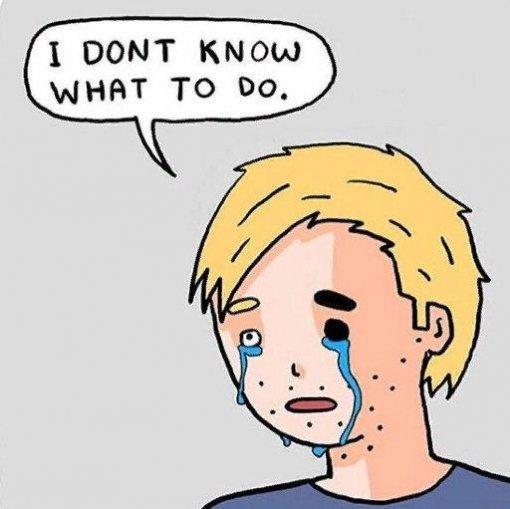 Одепрессии инеловких моментах. Иллюстратор создает ироничные комиксы отрудных жизненных ситуациях