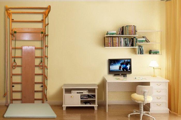 Качественные шведские стенки для дома и квартиры