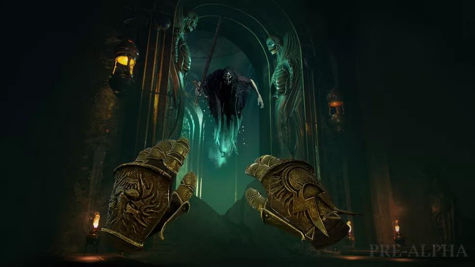В новой VR-игре по Warhammer вы станете волшебником бури в стране мертвых