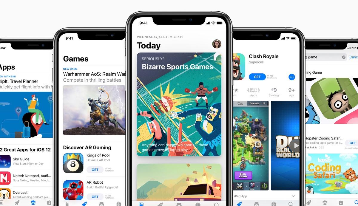 App Store приносит вдвое больше дохода чем Google Play Store, несмотря на меньшее количество загрузок