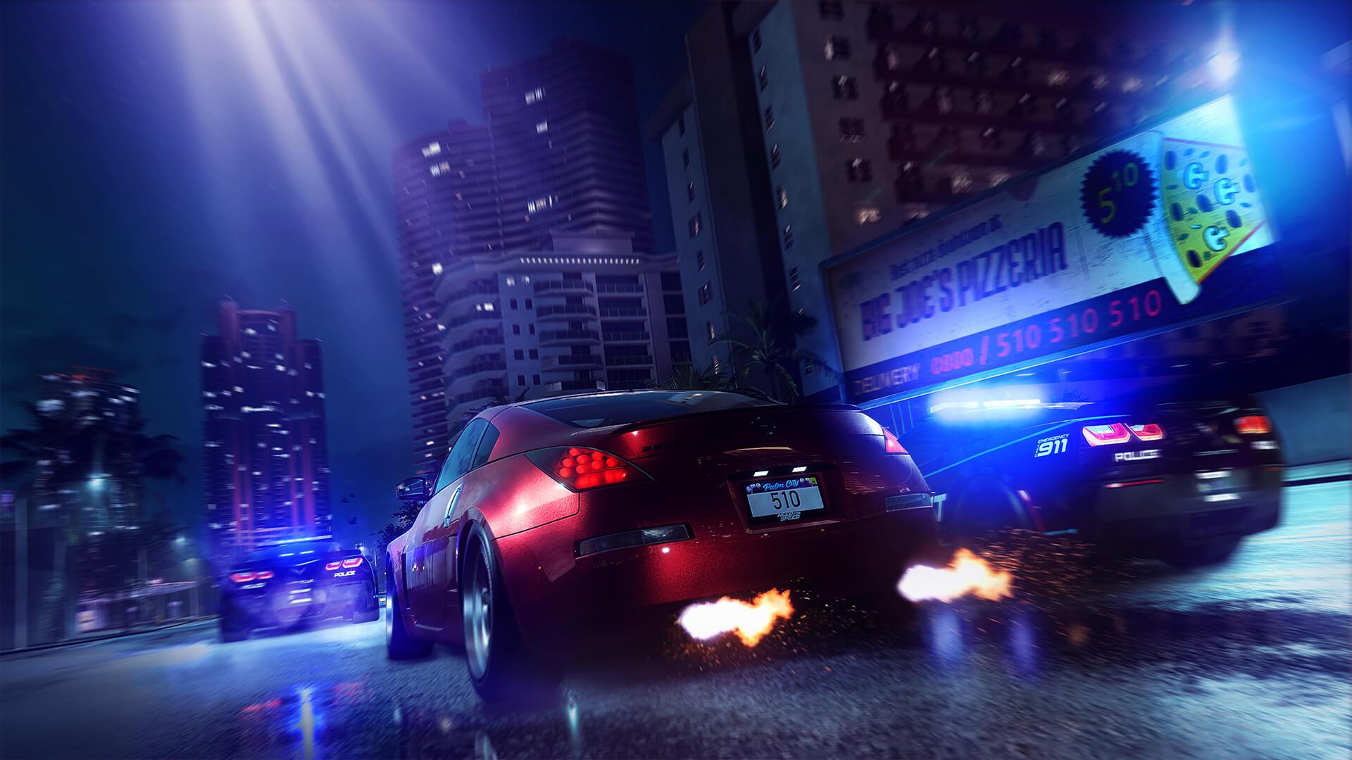 EA запустила обратный отсчёт на сайте Need For Speed