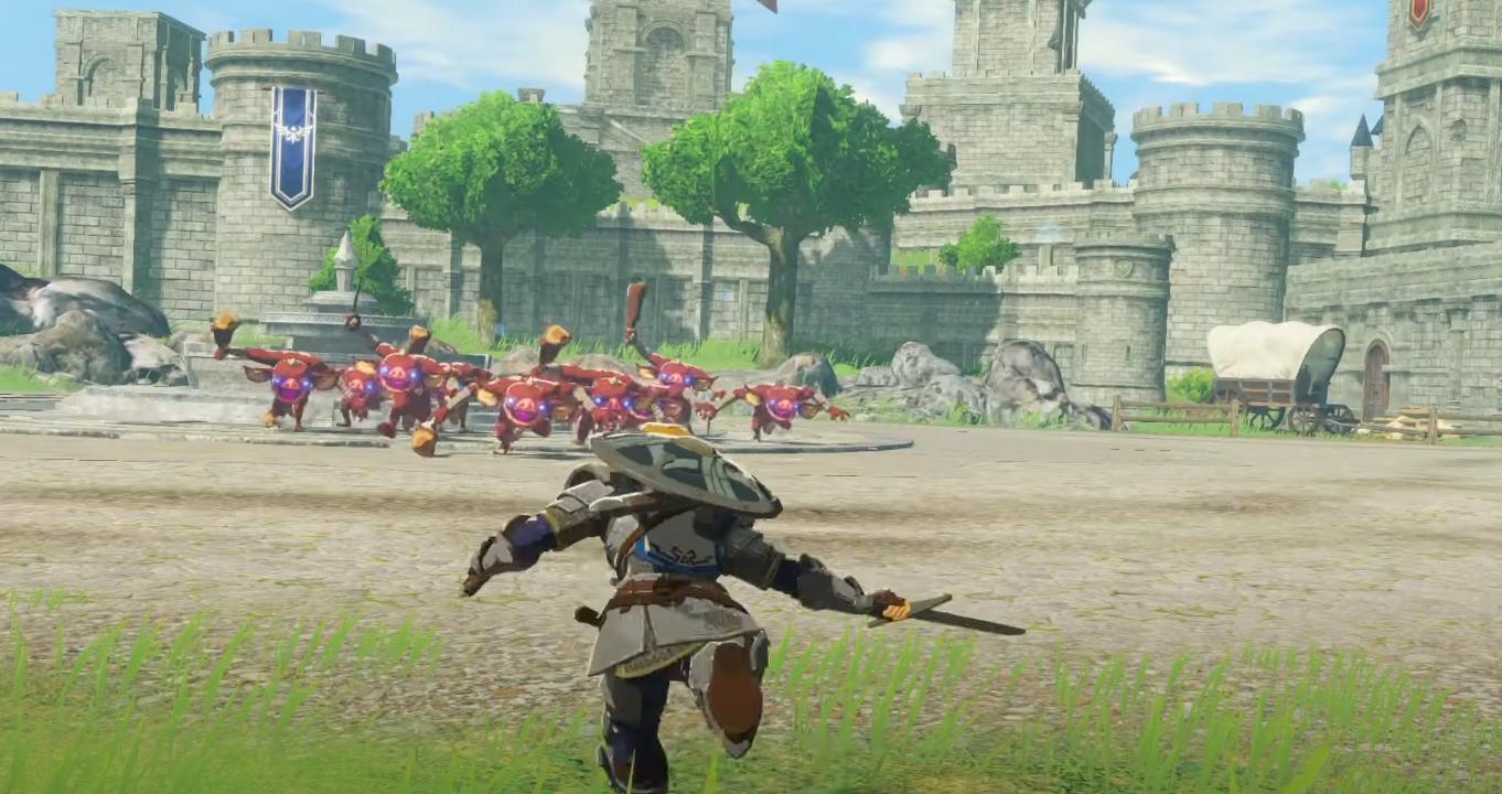Новый трейлер Hyrule Warriors: Age of Calamity, в котором показаны Хесту и планеры