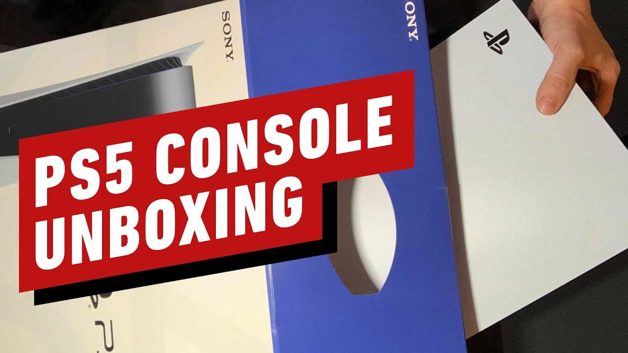 Распаковка PS5 и игровые видео Astro's Playroom