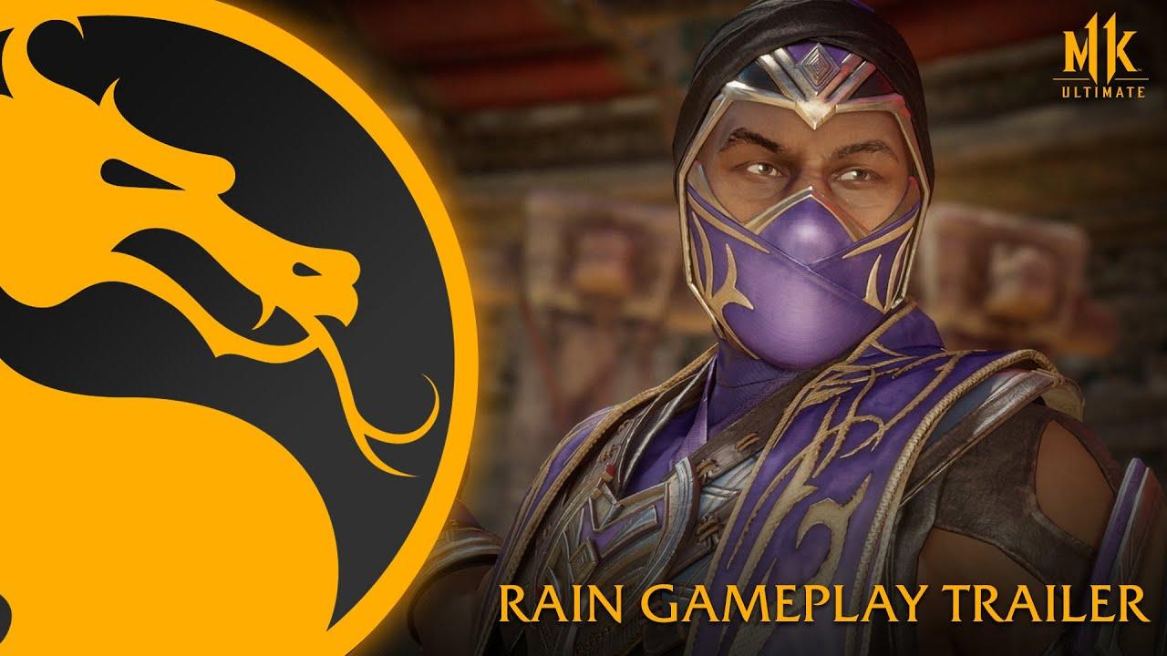Рейн в новом трейлере Mortal Kombat 11