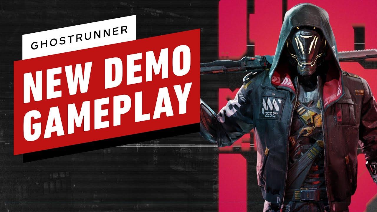 7 минут игрового процесса из обновленной демоверсии Ghostrunner