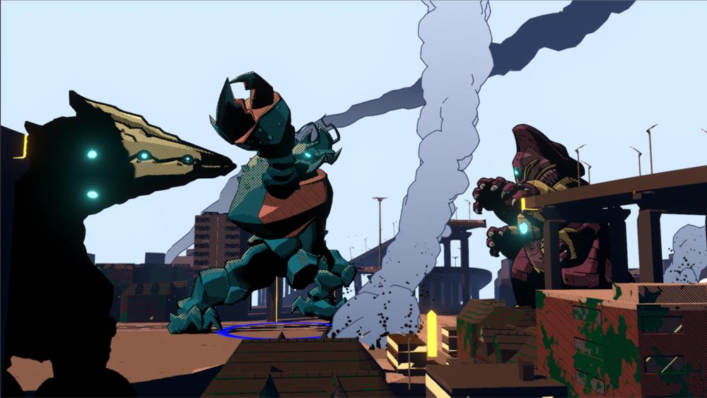 WayForward выступит издателем Dawn of the Monsters