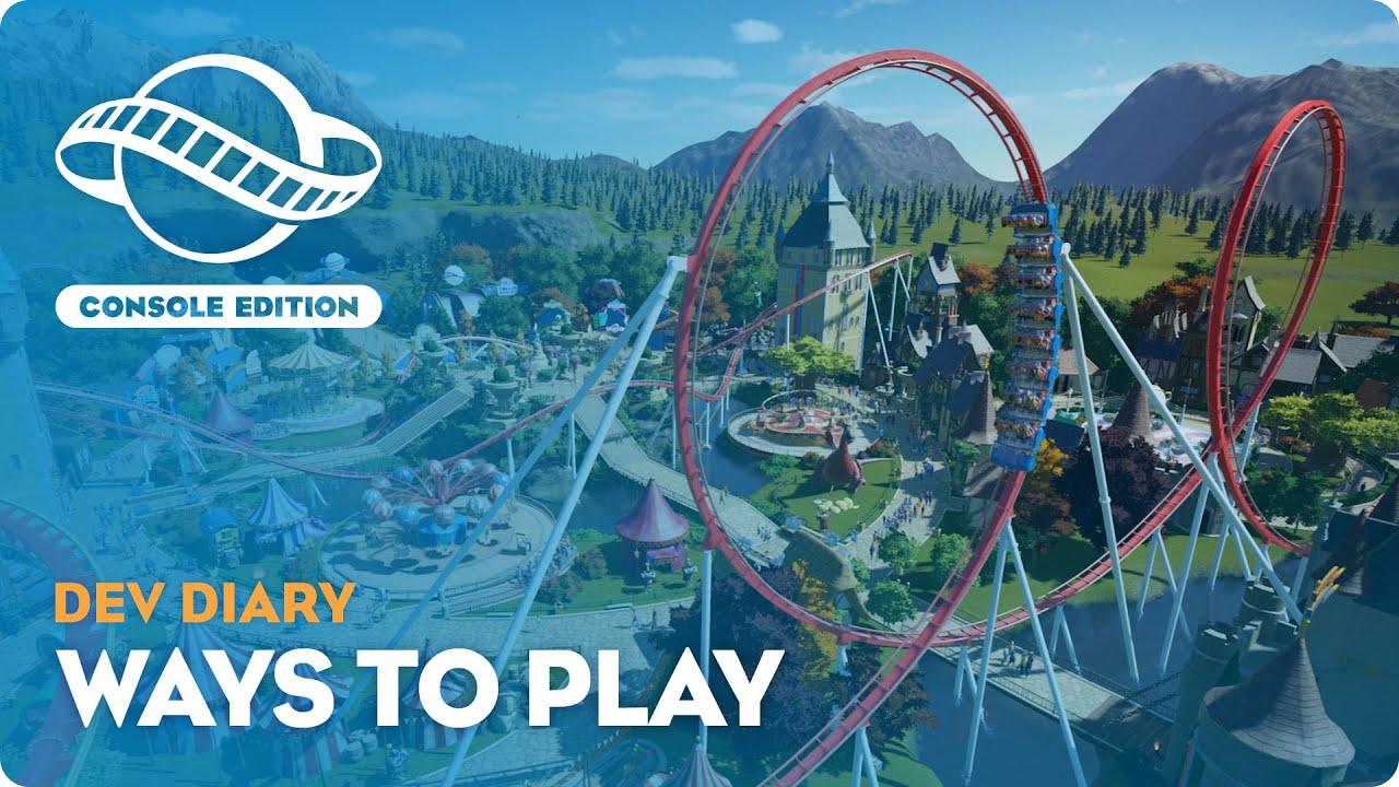 Новый дневник разработчиков Planet Coaster