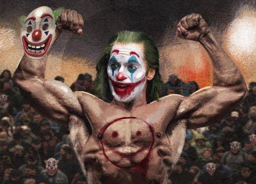 Хоумлендер— Супермен, Бутчер— Бэтмен, Джокер— качок: художник рисует альтернативные версии героев