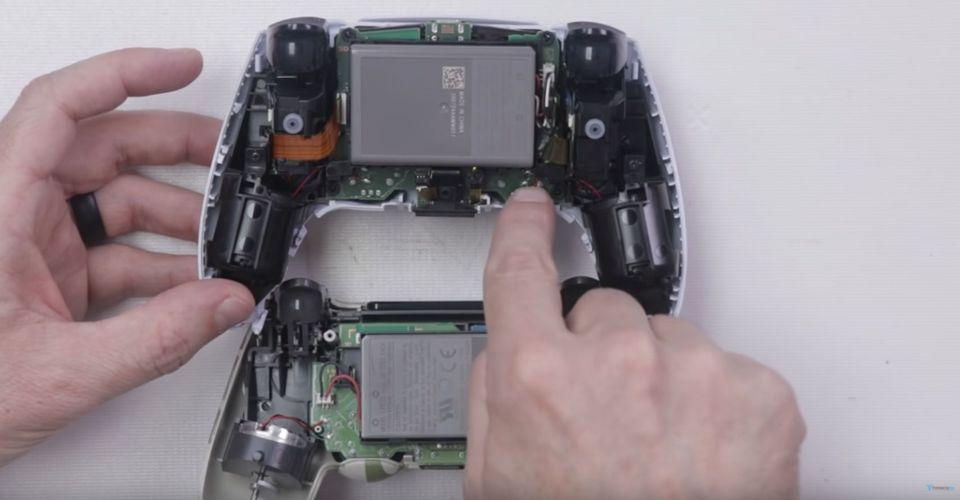 Ютубер разобрал PS5 DualSense, чтобы раскрыть его передовые технологии