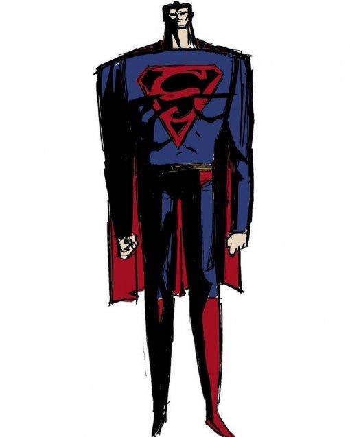 Создатель фильма «Звёздные войны: Войны клонов» показал, как могбы выглядеть Супермен вмультфильме