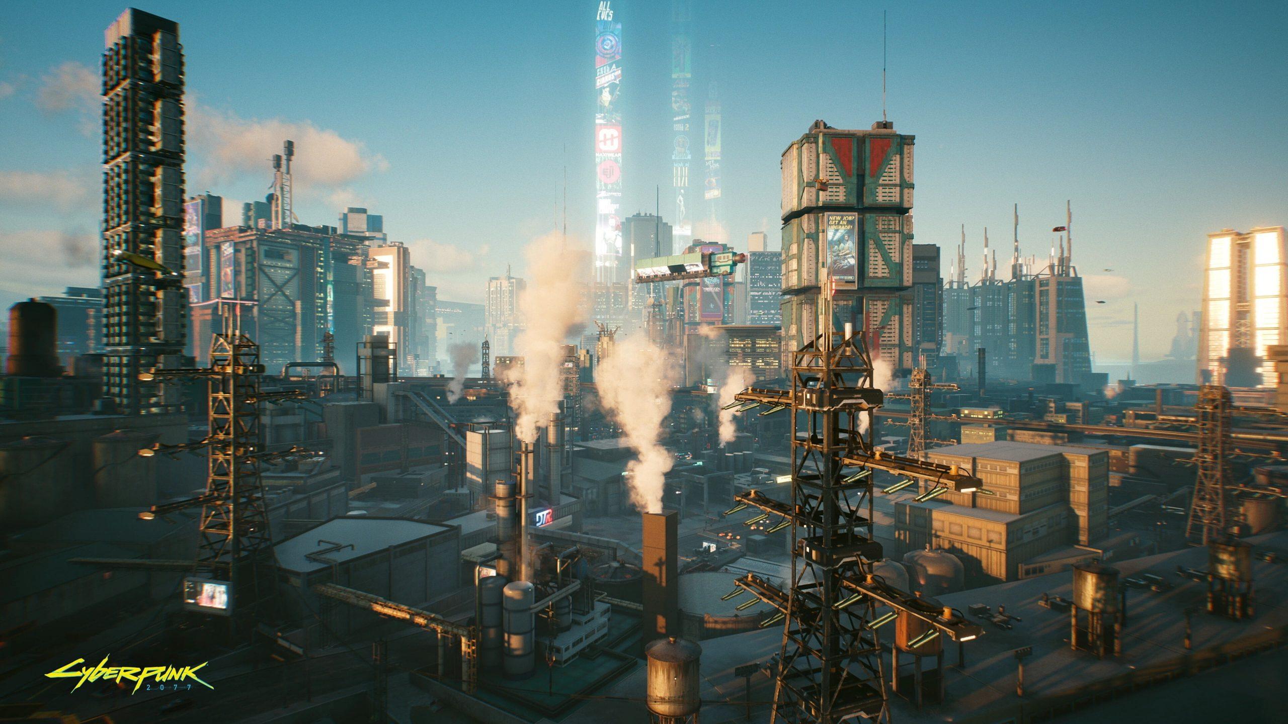 Новые скриншоты Cyberpunk 2077