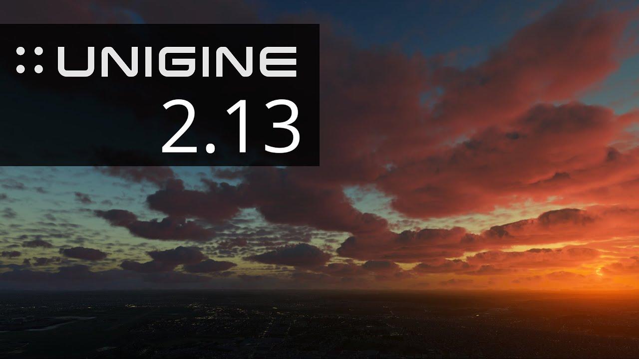 UNIGINE 2.13 теперь доступен разработчикам, предлагая множество улучшений