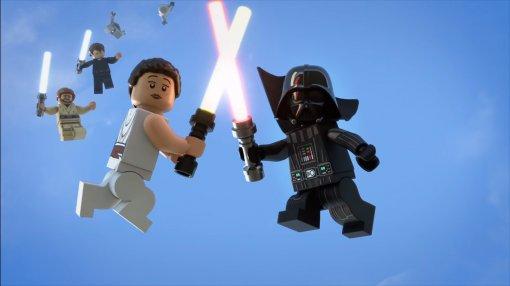 Рей Скайуокер сражается с Дартом Вейдером: вышел трейлер спецвыпуска LEGO Star Wars
