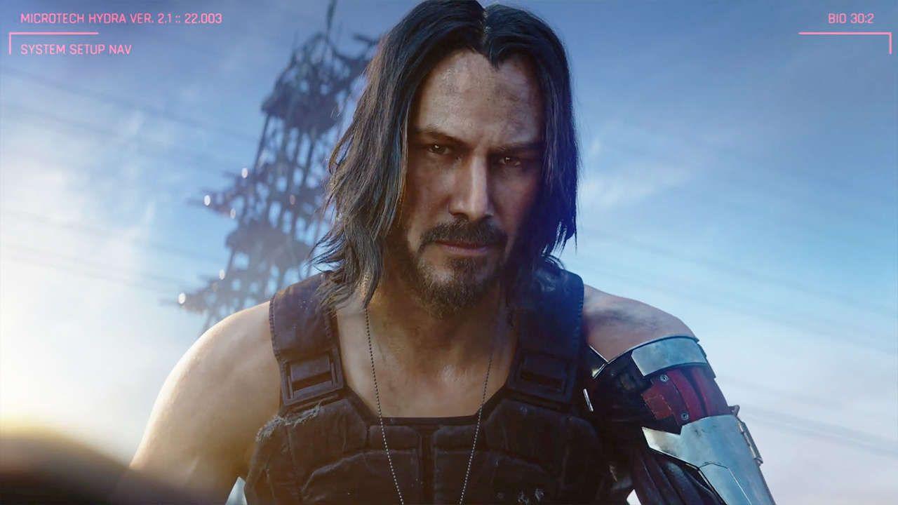 Во вселенной Cyberpunk 2077 есть актёр Киану Ривз, который, однако, не добился успеха